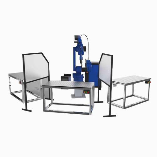 标准三工位柔性焊接工作站